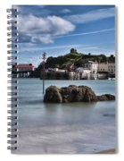 Tenby Harbour 1 Spiral Notebook