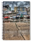 Tenby Harbour 2 Spiral Notebook