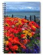 Tenby In Bloom Spiral Notebook