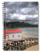 Tenby Lifeboat House Spiral Notebook