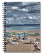 Tenby North Beach 3 Spiral Notebook
