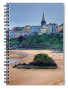 Tenby Over North Beach Painted Spiral Notebook