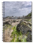 Tenby Rocks 2 Spiral Notebook