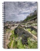 Tenby Rocks 3 Spiral Notebook