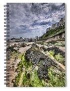 Tenby Rocks 4 Spiral Notebook