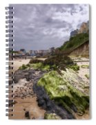 Tenby Rocks Painted Spiral Notebook