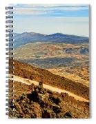 Tenerife Volcanic Landscape Spiral Notebook