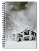Tengboche Monastery In The Himalaya Spiral Notebook