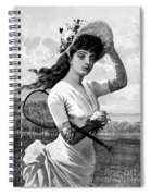 Tennis, 1887 Spiral Notebook