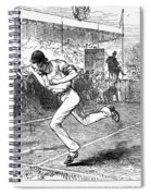 Tennis: Wimbledon, 1880 Spiral Notebook