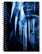 Tentacles Of Ice Spiral Notebook