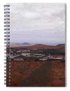 Tequise From Guanapay Castle  Spiral Notebook