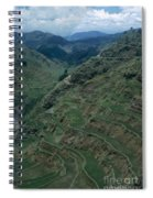 Terraces Of Rice Spiral Notebook