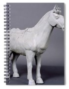 Terracotta Horse Spiral Notebook