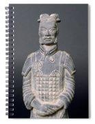 Terracotta Warrior Soldier Spiral Notebook