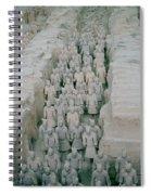 Terracotta Warriors In Xian In China Spiral Notebook
