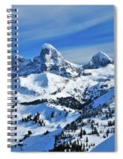 Teton Winter Spiral Notebook