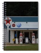 Texaco Gas Station Spiral Notebook