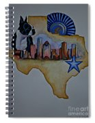 Texas Bound 3 Spiral Notebook