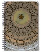 Texas Capitol Star Spiral Notebook
