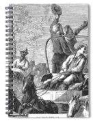 Texas Cattle Trail, 1874 Spiral Notebook