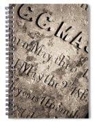 Tcm - C.c. Mason Grave Spiral Notebook