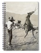 Texas: Cowboy, C1910 Spiral Notebook