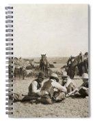 Texas: Cowboys, C1906 Spiral Notebook