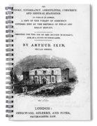 Texas: Guidebook, 1841 Spiral Notebook