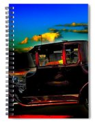 Texas Hot Rod Spiral Notebook