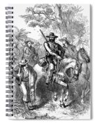 Texas: Mexican Filibusters Spiral Notebook