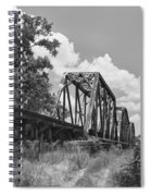 Texas Railroad Bridge Spiral Notebook