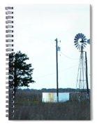 Texas Ranch View Spiral Notebook