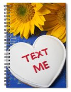 Text Me Spiral Notebook