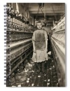 Textile Workers, 1909 Spiral Notebook