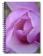 Textured Flowerr Spiral Notebook