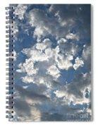Textured Skies Spiral Notebook