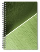 Patterns And Colors. Green. Spiral Notebook