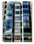 Textures Of The City Spiral Notebook