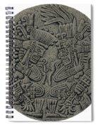 Tezcatlipoca And Huitzilopochtli Spiral Notebook