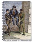 Thaddeus Stevens, 1868 Spiral Notebook