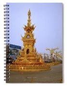 Thai Clock Tower  Spiral Notebook