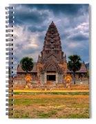 Thai Temple Spiral Notebook