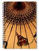 Thai Umbrella 1 Spiral Notebook