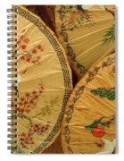 Thai Umbrellas 2 Spiral Notebook