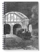 Thames Tunnel: Train, 1869 Spiral Notebook