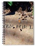 Thank Heaven For Little Girls Spiral Notebook