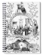 Thanksgiving, 1852 Spiral Notebook