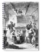 Thanksgiving, 1855 Spiral Notebook