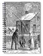 Thanksgiving, 1882 Spiral Notebook